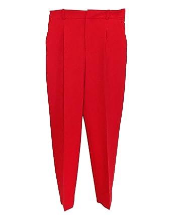 plus de photos 43ec5 6af6f Zara Femme Pantalon Cigarette 2128/691: Amazon.fr: Vêtements ...