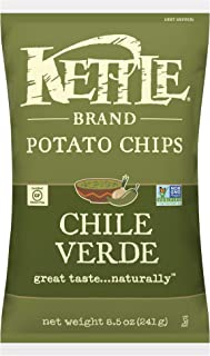 product image for Kettle Brand Potato Chips, Chile Verde, 8.5 Ounce (Pack of 12)