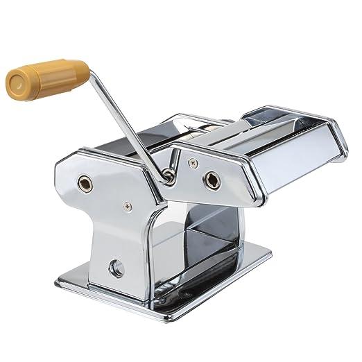 4 opinioni per Macchina manuale per pasta fresca- Lasagne, Spaghetti e Tagliatelle- in acciaio