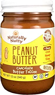 product image for Naturally Nutty Peanut Butter Organic (Chocolate Butter Toffee, 12oz)
