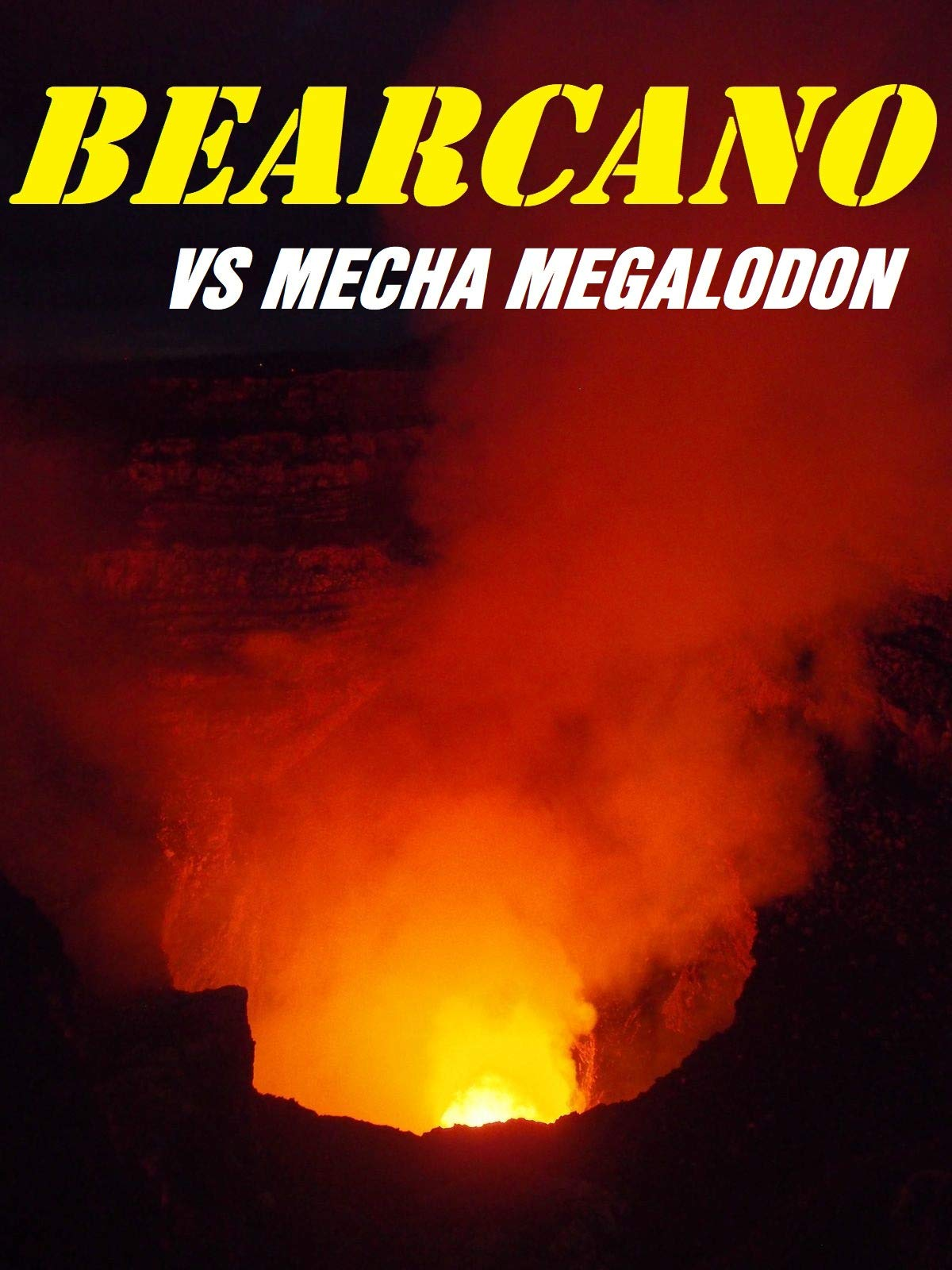 Bearcano VS Mecha Megalodon