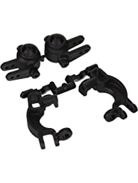 RPM Caster and Steering Blocks for Traxxas Slash 4x, Stampede 4x and Rally, Black