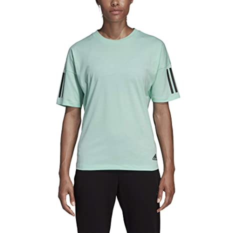 adidas Must Haves 3-Stripes Modern, T-Shirt Donna, Clear ...
