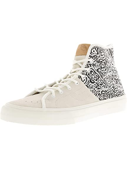 ceba3ad81d Vans Unisex Adults  U Sk8 Hi-Decon SPT C Sk8 Hi-Decon SPT Off White Size   5.5  Amazon.co.uk  Shoes   Bags