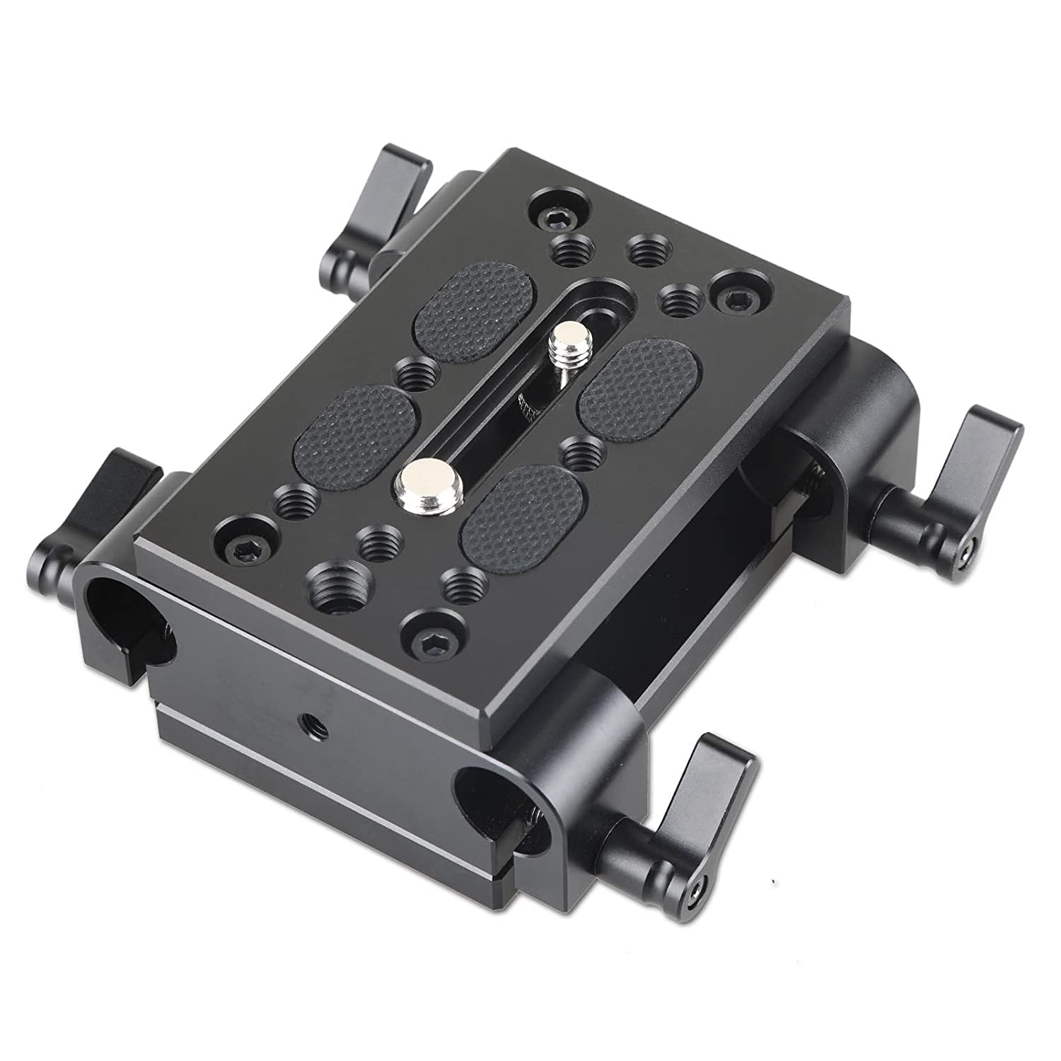 SmallRig Multi-Function Mounting Plate Cheese Plate with 1/4' and 3/8' Connections for Sony F970/F550 Battery on Monitors for Lilliput Fa1011, Fa1013, 669hb, 669gl, 869gl & for Coollcd 619ah - 904
