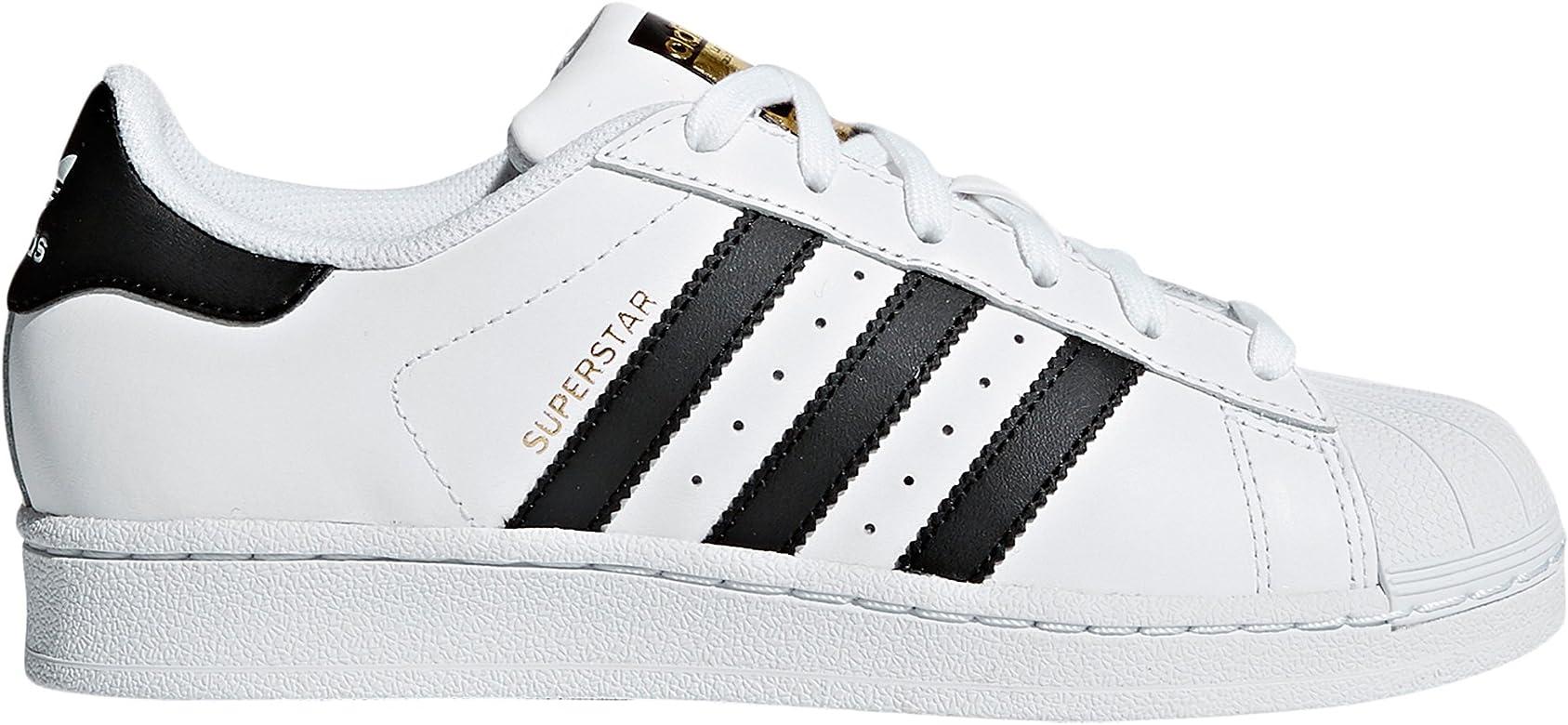 75ac3b806d7a Adidas Original Superstar Autentic Blancas para Mujer de Piel. Sneakers (37  1/3 EU, White Core Black)