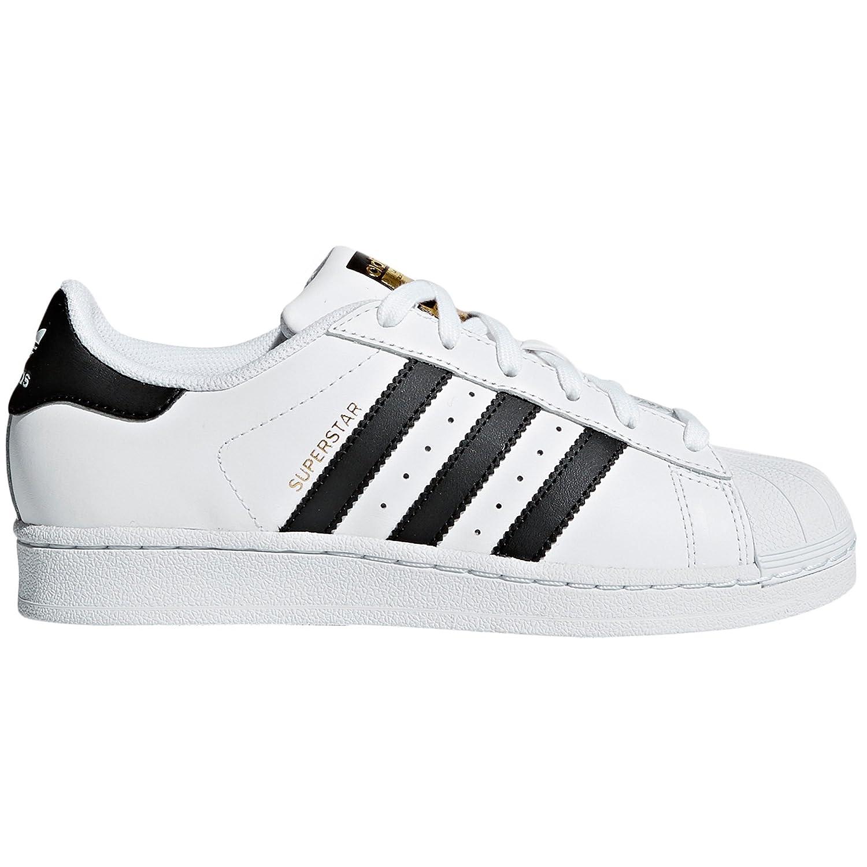 TALLA 38.5 EU. Adidas Superstar Blancas Mujer. Zapatillas de Deporte.