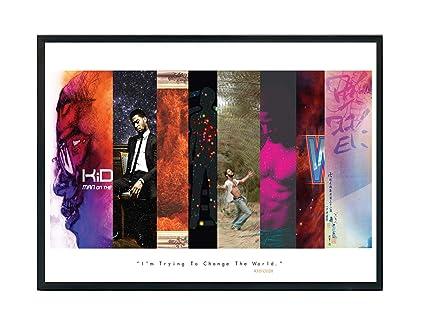 f0e43a1906f1 Amazon.com  Rob s Tees Custom Mixed Media Album History Poster ...