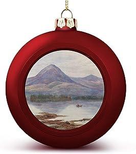 VinMea Christmas Ball Ornaments Decoration Lake George, Adirondack Mountains Christmas Ball for Christmas Tree Christmas Decoration