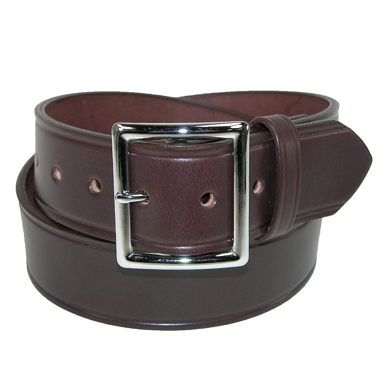 Boston Leather Mens Big /& Tall Leather 1 3//4 Inch Garrison Belt