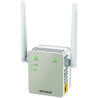 【3日まで】NETGEAR ワイヤレスエクステンダー(無線LAN中継機)&イーサネットコンバーター EX6120-100JPS 送料込2,080円