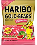 Haribo of America Watermelon Gold Bears Bags, 12 Count