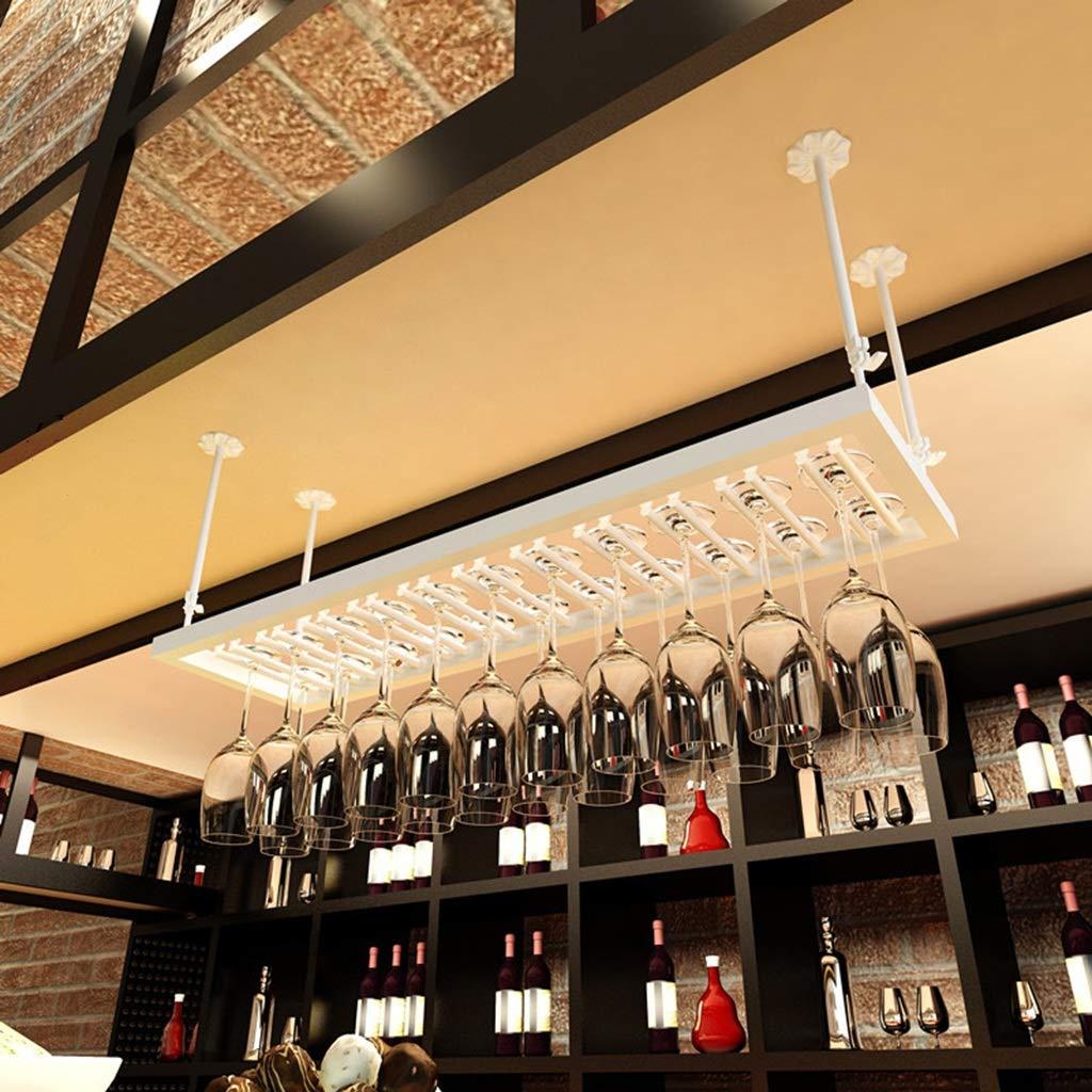 Amazon.com: Wine Rack Wine Glass Holder Wrought Iron Hanging Goblet ...