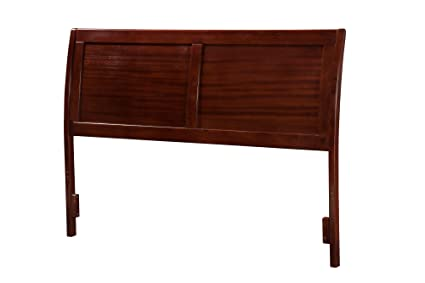 Atlantic Furniture Portland Headboard, King, Antique Walnut - Amazon.com - Atlantic Furniture Portland Headboard, King, Antique