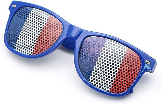 Frmarche - Gafas de Sol con Rejilla con Agujeros, diseño de ...