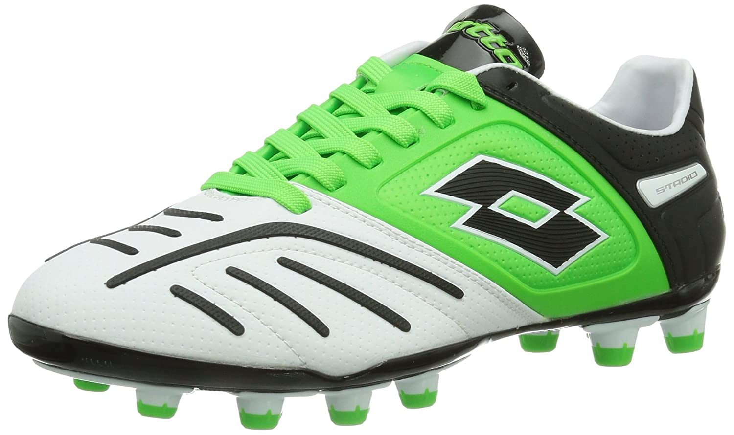 Lotto Sport Stadio Potenza V 200 FG, Chaussures de Football homme:  Amazon.fr: Chaussures et Sacs