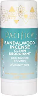 product image for Pacifica Sandalwood Incense Clean Deodorant, 2.8 Ounce