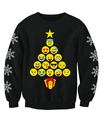 black christmas jumper
