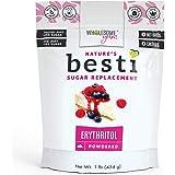 Wholesome Yum Besti Keto Powdered Erythritol Sweetener - Natural Powdered Sugar Replacement (16 oz / 1 lb) - Non GMO…