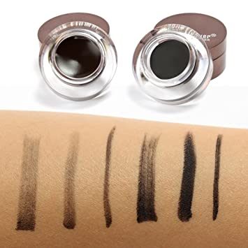 Amazon.com : EFINNY 4 in 1 Brown Black Gel Eyeliner and Eyebrow Powder Water-proof Eye Makeup Set Kit : Beauty