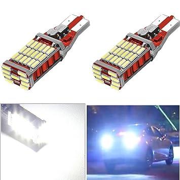 ruecious 921 912 W16 W T15 T10 45smd chipsets bombillas LED Canbus Libre De Errores de