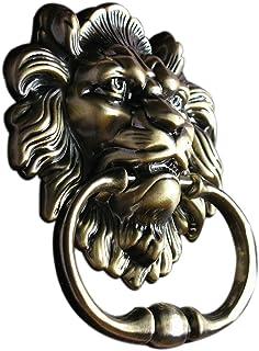 UniDecor Antique Lion Door Knocker Lion Head  sc 1 st  Amazon.com & UniDecor Large Antique Lion Door Knocker Lion Head Door Handle ...