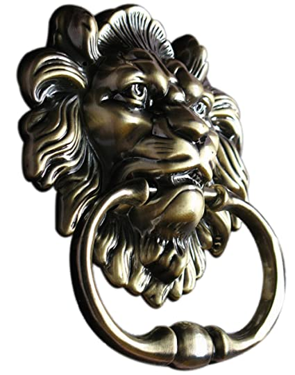 UniDecor Antique Lion Door Knocker Lion Head - UniDecor Antique Lion Door Knocker Lion Head - - Amazon.com