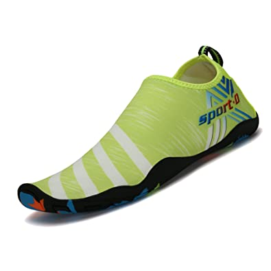10686028f7d01 SAGUARO Unisex Swimwear Aqua Shoes Water Shoes Swimwear Soft Breathable  Slip-Resistant Shoes for Women