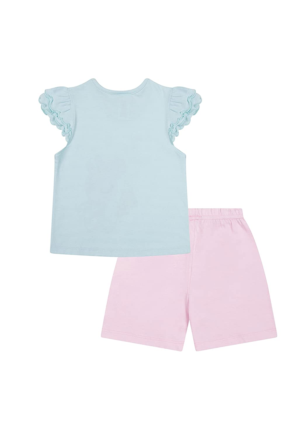 Girls Peppa Pig Good Night Teddy Peppa Short Pyjamas