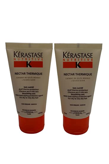 Amazon.com : Kerastase Nectar Thermique Travel 1.69oz Set of 2 : Shampoo And Conditioner Sets : Beauty