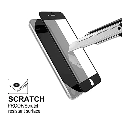 finest selection 1c0f0 09356 Amazon.com: iphone 7 Screen Protector FITS iPHONE 8 - | iPhone 7 ...