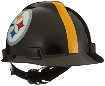 96c95565465 MSA Safety Works 818438 NFL Hard Hat