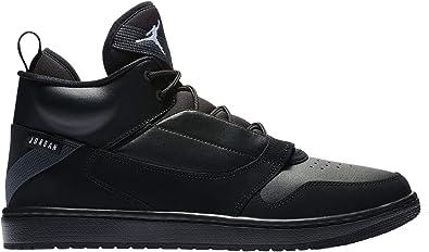 Jordan Fadeaway - Men's Black/White/Anthracite Nylon Casual Shoes 10.5 D(M) US