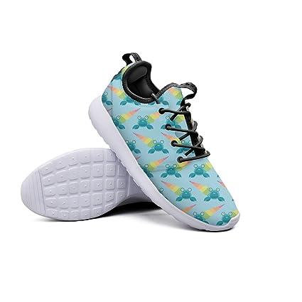 b8a20d146d5dd Amazon.com: YYuuijk Rainbow Hermit Crab Printing Women's Gym Shoes ...
