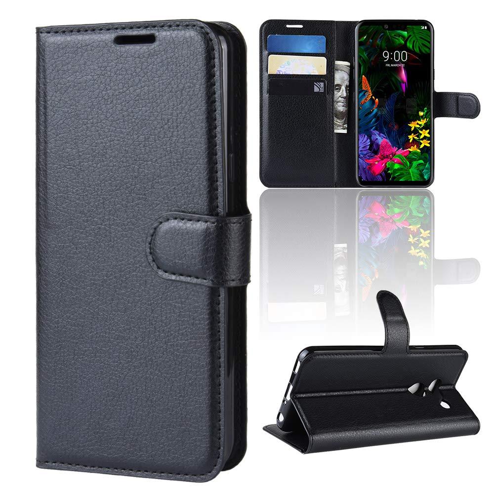 Funda para LG G8 ThinQ Case Flip Cover Cartera con Ranura para ...