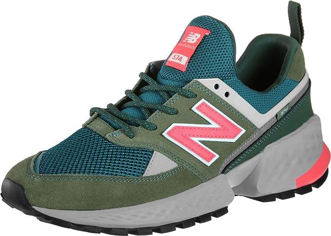 on sale da4a2 7d305 Amazon.com: New Balance Men's 574 Sport Trainers, Green: Shoes