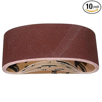 Amazon.com: POWERTEC 110960 Cinturón de lijado de óxido de ...