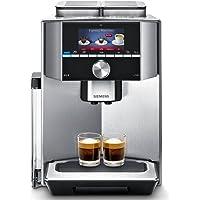 Siemens TI917531DE Kaffeevollautomat (1500 Watt, Integriertes Milchsystem, One Touch, Reinigungsprogramm, Tassenwärmer, Doppeltassenbezug) edelstahl