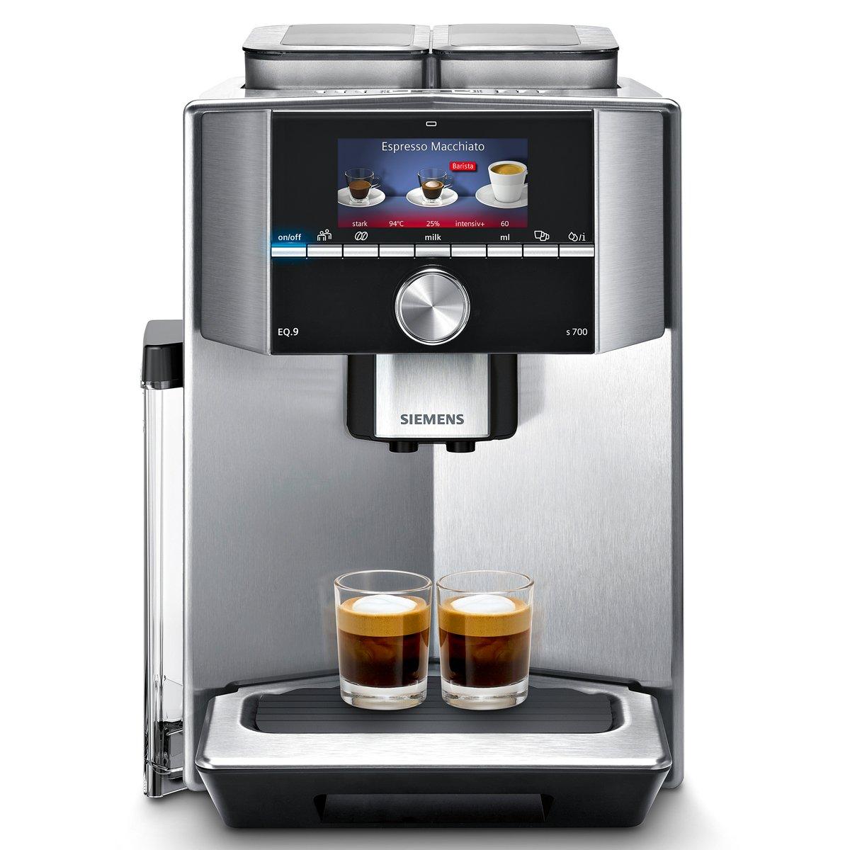 Siemens ti907501de di caffè automatiche include filtri acqua TI917531DE