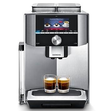 Siemens TI917531DE Independiente Totalmente automática 2.3L Acero inoxidable - Cafetera (Independiente, 2,