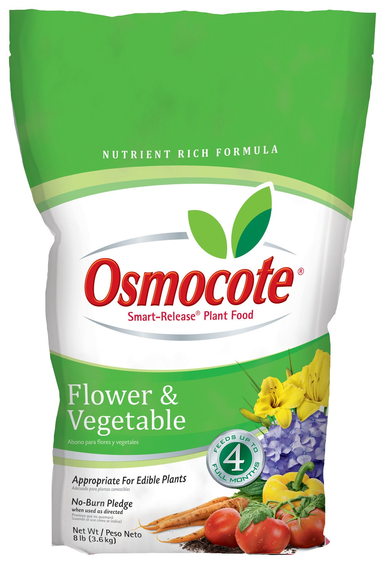 Osmocote Smart-Release Plant Food Flower & Vegetable, 8 lbs by Osmocote