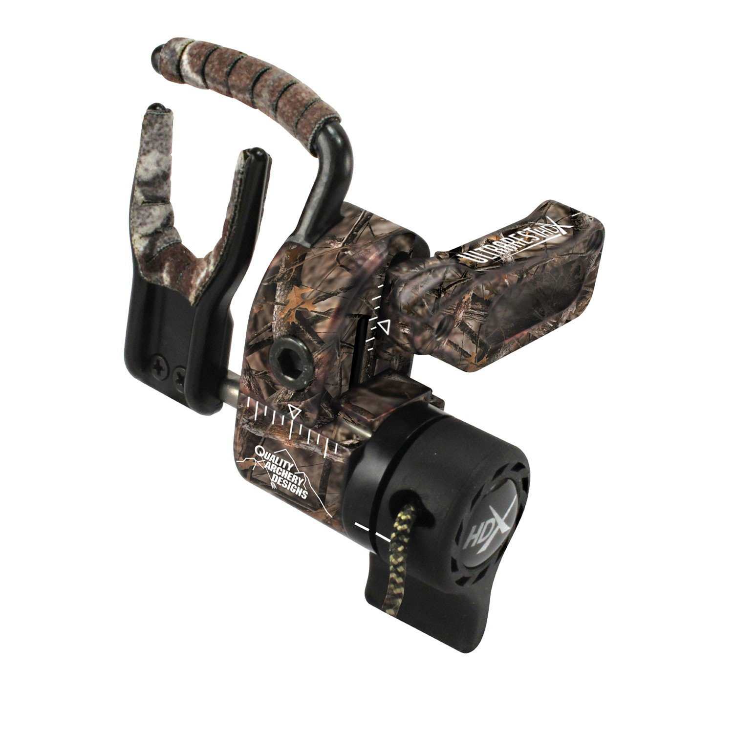 Quality Archery Designs Ultra-Rest HDX, Mossy Oak, Left Hand