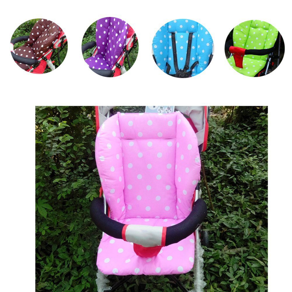 Vktech® Baby Infant Stroller Seat Pushchair Cushion Mat Cushion Cover (Pink)