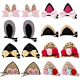 inSowni 16pcs Snap Alligator Hair Clips Unicorn Barrette for Baby Girls Toddlers
