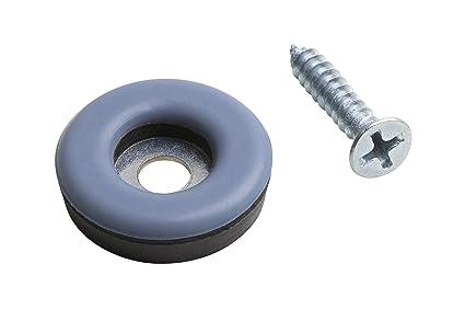 Metafranc Easyglider Ø 22 mm - Mit Schraube - 8 Stück - PTFE Gleitoberfläche - Für ein leichtes Verschieben schwerer Möbel /