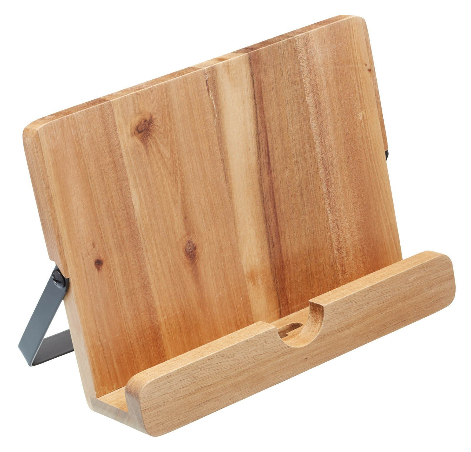 KitchenCraft Natural Elements Acacia Wood Cookbook / Tablet Stand by KitchenCraft