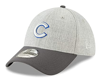 ab5768435 Amazon.com : New Era Chicago Cubs MLB 39THIRTY Change Up Redux Flex Fit Hat  - Gray : Clothing