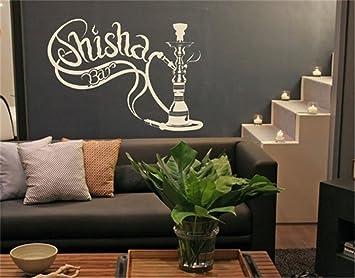 Wandaufkleber Selbst Gestalten Shisha Bar Fur Wohnzimmer