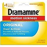 Dramamine Motion Sickness Original, 36 Count