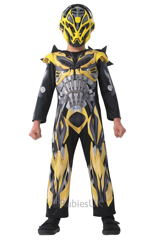 Rubies Bumblebee Deluxe - Transformers - Age of Extinction - Niños ...